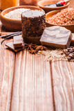The Chocolate spa Royalty Free Stock Photos