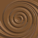 Chocolate spiral Royalty Free Stock Photo