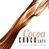 Chocolate splash Stock Photography