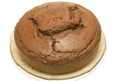 Chocolate sponge cake Stock Photography