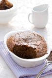 Chocolate Sponge Pudding Royalty Free Stock Image