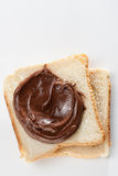 Chocolate Spread Royalty Free Stock Photography