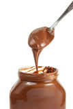 Chocolate Spread. Fresh and delicious chocolate spread Stock Photos