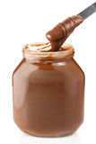 Chocolate Spread. Fresh and delicious chocolate spread Royalty Free Stock Photo