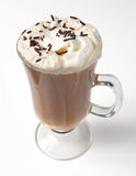 Chocolate Sprinkled Latte Royalty Free Stock Photography
