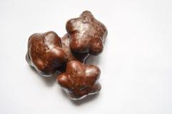 Chocolate stars Stock Photos