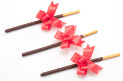 Chocolate stick Stock Image