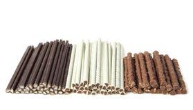 Chocolate sticks Royalty Free Stock Photo
