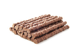 Chocolate sticks Royalty Free Stock Photos