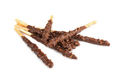 Chocolate sticks Stock Photo