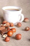 Chocolate still-life Stock Photography