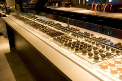 Chocolate store Stock Photography
