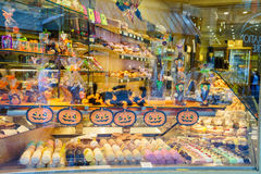 Chocolate store Royalty Free Stock Images