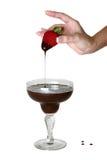 Chocolate Strawberry Stock Photography