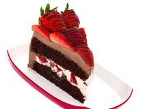 Choco love cake Royalty Free Stock Photography