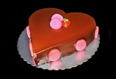 Chocolate strawberry cake Stock Photo