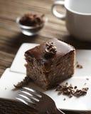 Chocolate suffle Stock Image