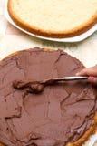 Chocolate and sugar royalty free stock photos