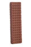 Chocolate sugar wafer Stock Images
