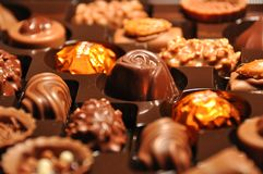 Chocolate suizo foto de archivo