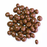 Chocolate sultanas royalty free stock image