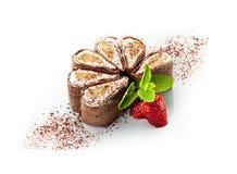 Chocolate Sushi Stock Photography