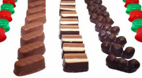 Chocolate sweets. Stock Image