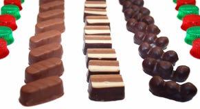 Chocolate sweets. Stock Image