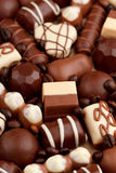 Chocolate sweets Stock Image