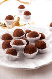 Chocolate sweets Stock Photos