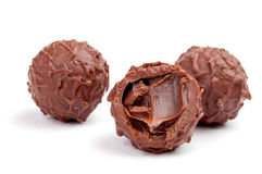 Chocolate sweets Stock Photography