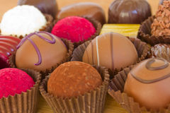 Chocolate sweets Royalty Free Stock Images