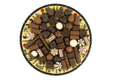 Chocolate sweets Stock Image