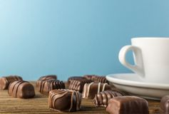 Chocolate Sweets Background Royalty Free Stock Photo