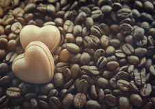 Chocolate sweets hearts Royalty Free Stock Photography