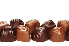 Chocolate sweets. Royalty Free Stock Photo