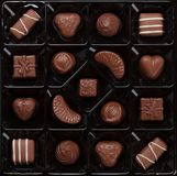 Chocolate sweets Royalty Free Stock Photos