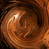 Chocolate swirl Stock Photos