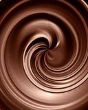 Chocolate swirl Stock Image