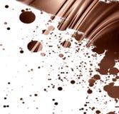 Chocolate swirl Royalty Free Stock Image