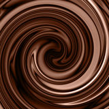 Chocolate swirl background Stock Photos