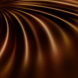 Chocolate swirls. Abstract background with chocolate swirl effect Stock Photos