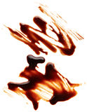 Chocolate syrup Royalty Free Stock Images