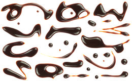Chocolate syrup spash Royalty Free Stock Image
