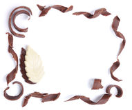 Chocolate, table, pieces Stock Photo