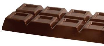 Chocolate tablet. A big bar of an italian chocolate isolated Stock Photos