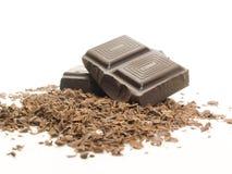 Chocolate tajado Fotografía de archivo