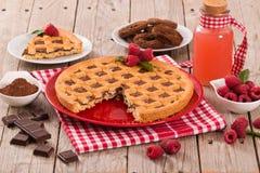 Free Chocolate Tart. Stock Photo - 120592430
