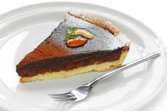 Chocolate tart Stock Photo