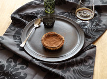 Chocolate Tart Stock Photography